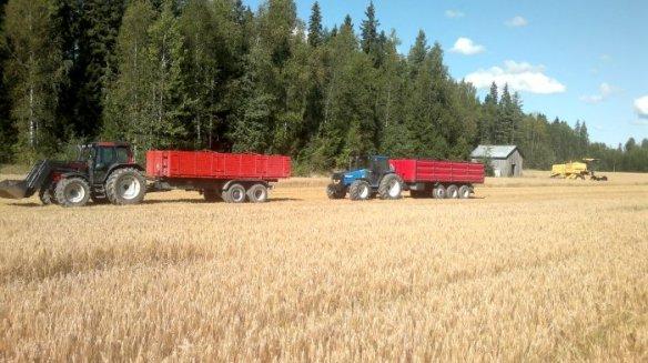 Sadonkorjuu traktorit_jh_pieni
