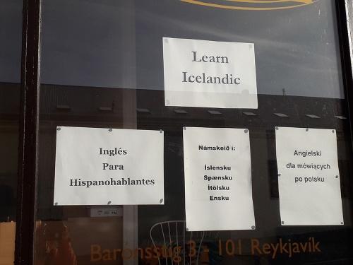 Språkkursutbud i Reykjavi