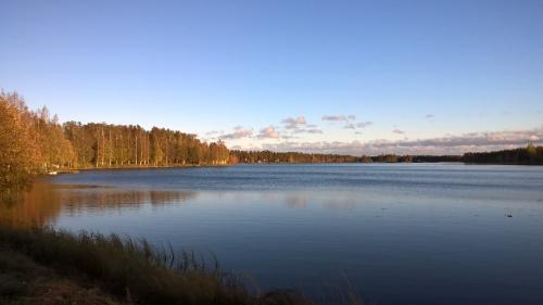 Foto om en sjö