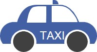 Piirroskuva taksista.