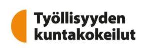 Työllisyyden kuntakokeilujen logo